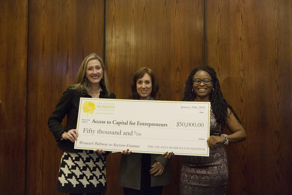 ACE Awarded 2nd Year of Funding by The Atlanta Women's Foundation
