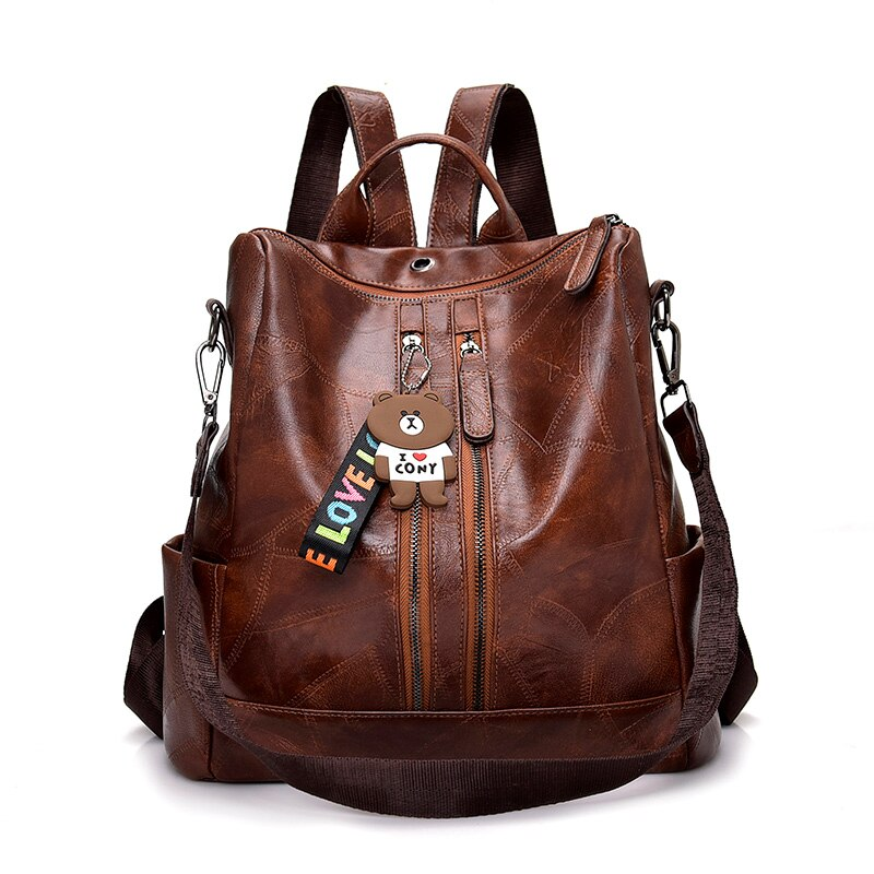ACELURE Fashion Women Backpack High Quality Youth PU Leather Backpacks for Teenage Girls Students School Bags Bagpack Mochila