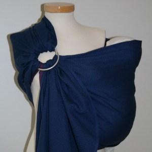 Storchenwiege® sling z obročki Leo Marine 1