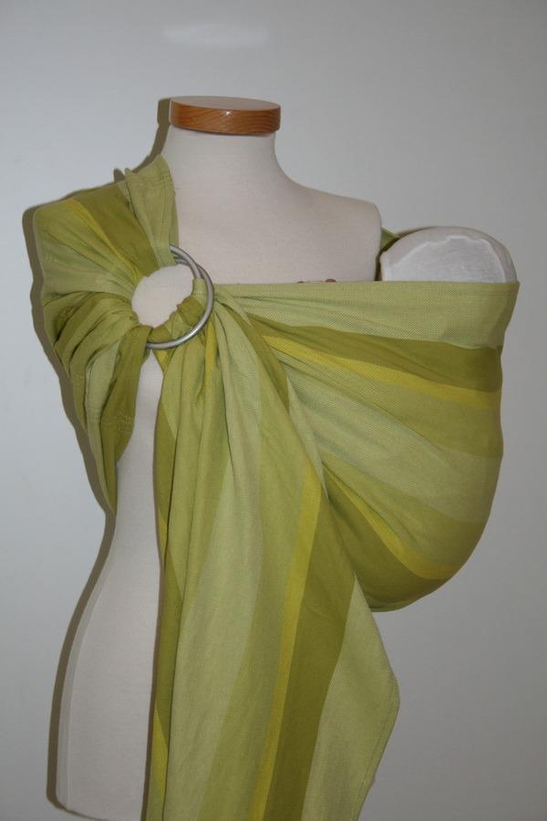 Storchenwiege® bio sling z obročki Olivia 1