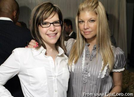 Lisa Loeb with Fergie