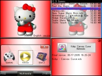 Kitty red theme