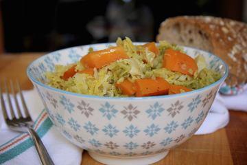 Cavolo verza con carote