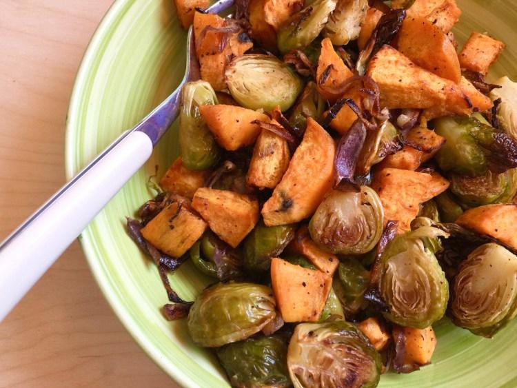 Cavoletti e patate dolci