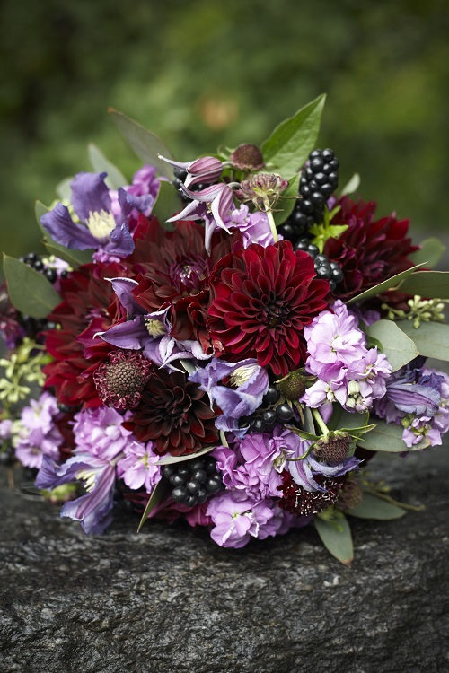 burgundy-purple-bridal-bouquet-fall