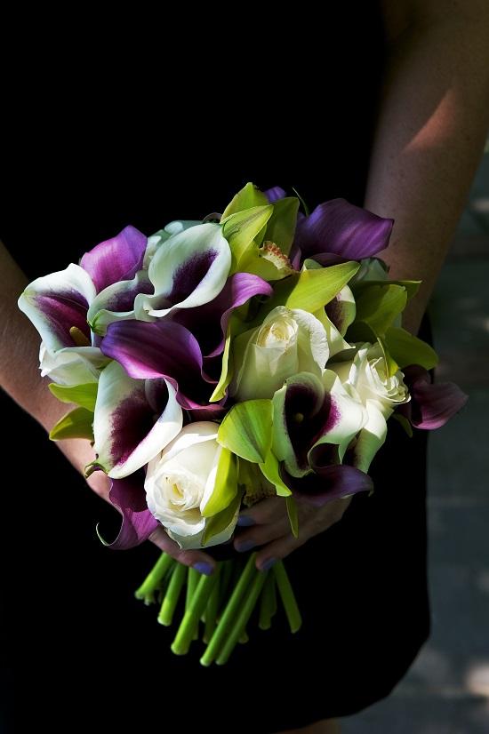 calla-lilies-cymbidium-orchid-modern-bouquet