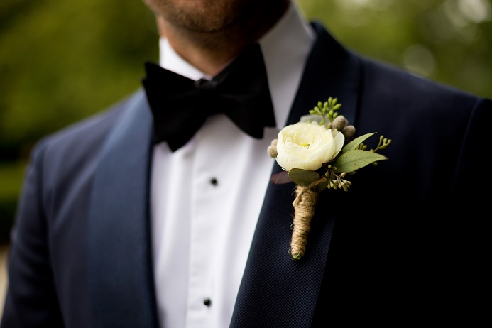 white-ranunculus-boutonniere