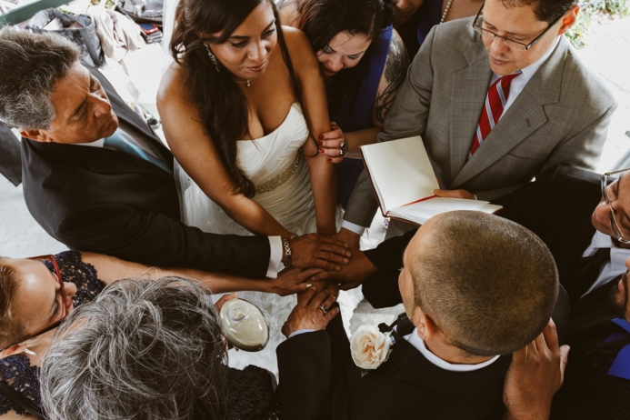 wedding-ceremony-central-park-family-prayer