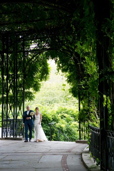 Conservatory Garden Central Park Wedding Wisteria Pergola (21)