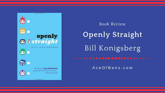 Review of Openly Straight by Bill Konigsberg