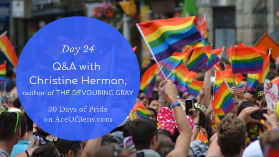 christine herman - 30 days of pride
