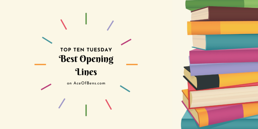Top Ten Tuesday: Best Opening Lines