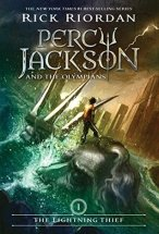 Cover of Percy Jackson and the Lightning Thief by Rick Riordan