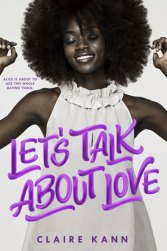 Cover of Let's Talk About Love by Claire Kann