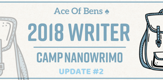 Camp NaNoWriMo Update #3