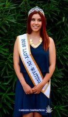 Lady In Waiting Clarissa Gardea at the 2016 Sun Court Coronation at the El Paso Country Club