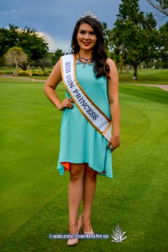2016 Sun Princess Stephanie Figueroa at the 2016 Sun Court Coronation at the El Paso Country Club