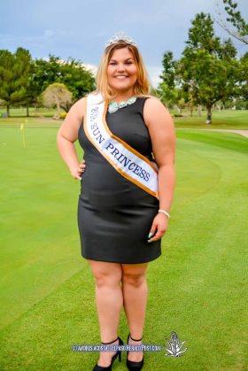 2016 Sun Princess Hannah Legge at the 2016 Sun Court Coronation at the El Paso Country Club
