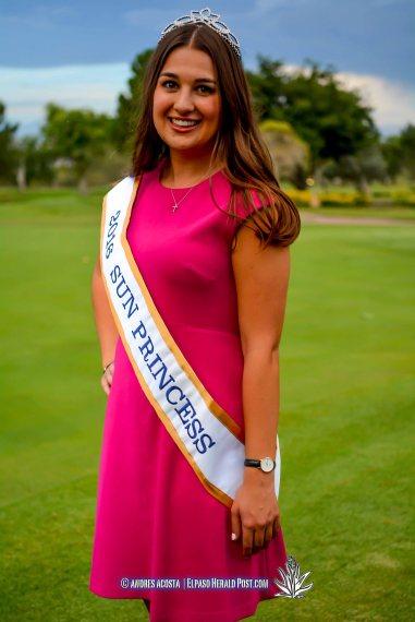 2016 Sun Princess Macy McBeth at the 2016 Sun Court Coronation at the El Paso Country Club