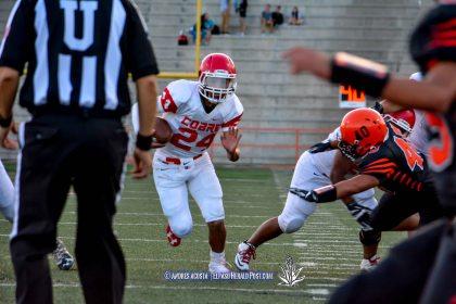 Cobre Indians vs El Paso Tigers, Week 1 of Tx High School Football