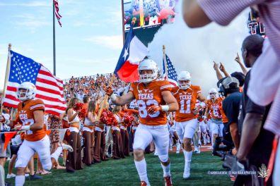 UTEP Miners Vs UT Longhorns, Darrell K Memorial Texas Memorial Stadium