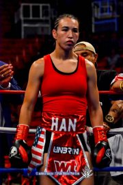 Jennifer Han Fight Night at the Don Haskins Center.