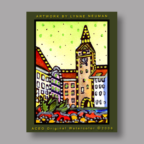 Signed ACEO Print *Germany #807* by Lynne Neuman