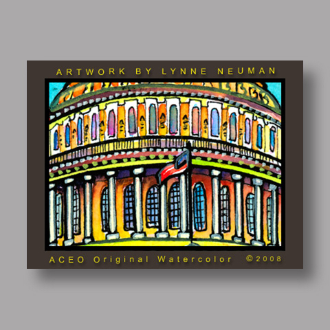 Signed ACEO Print *United States Capitol #2406* by Lynne Neuman