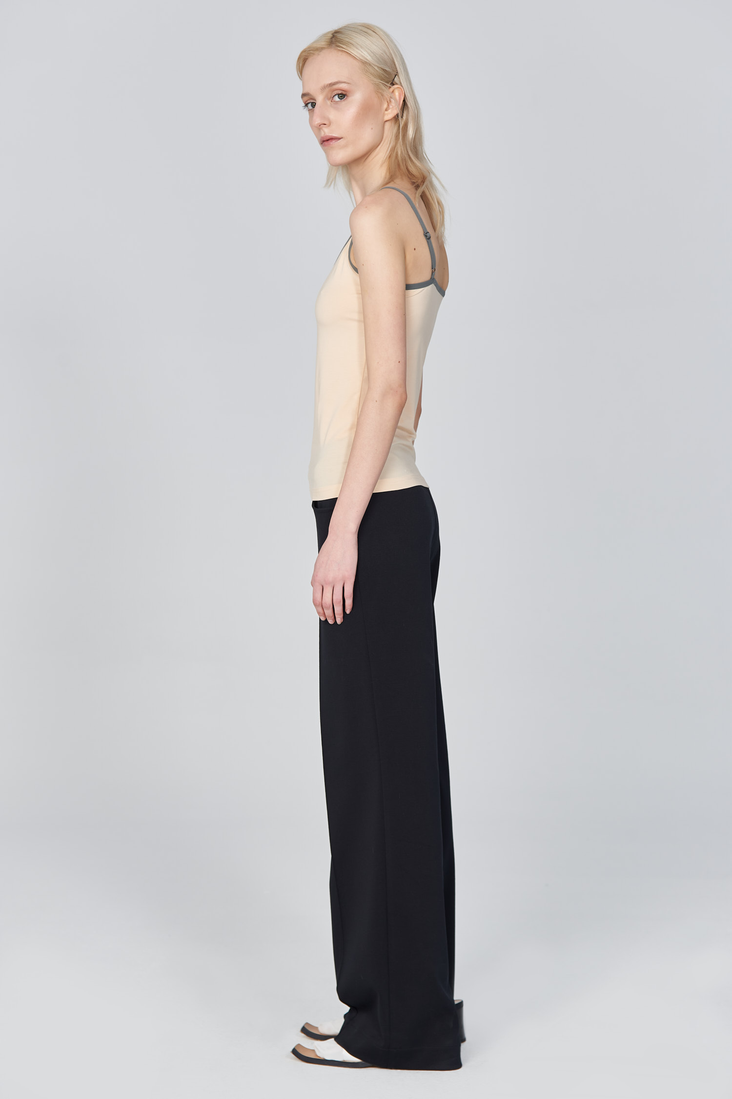 Acephala Ss21 Second Skin Tank Top Side Out