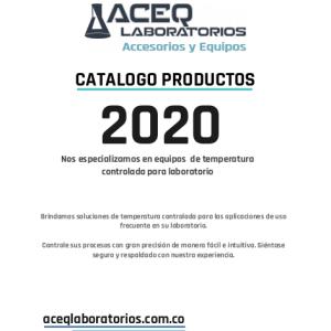 Portada catalogo Aceq Laboratorios 2020