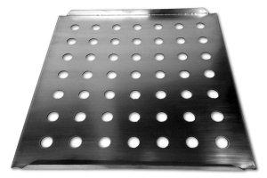 Bandeja en acero inoxidable para horno de secado