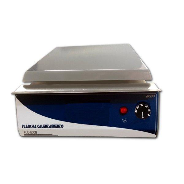 Plancha análoga laboratorio PLA-6002