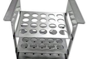 Gradilla metalica en acero inoxidable