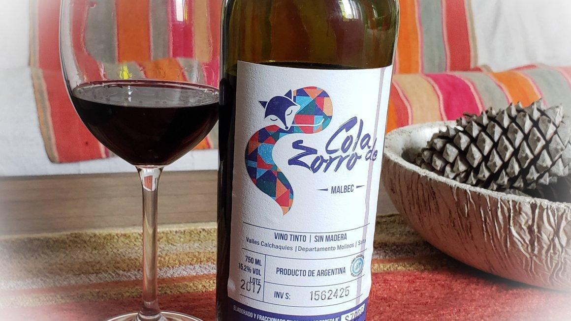 #TobaraWines: Cola de Zorro Malbec 2017