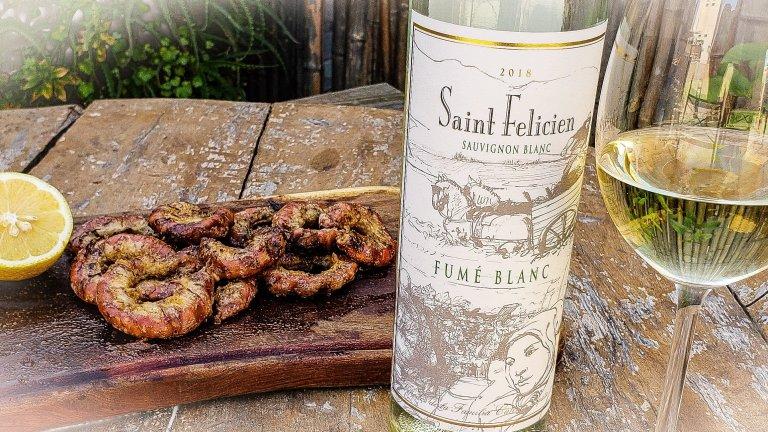 El recomendado: Saint Felicien Fumé Blanc Sauvignon Blanc 2018 2