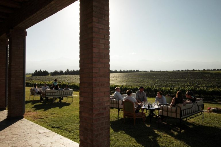 Momentos Andeluna: Atardecer entre viñedos y la cordillera 4