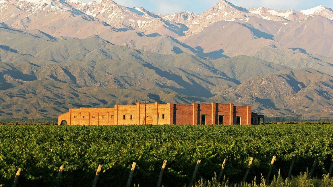 #MomentosAndeluna: Atardecer entre viñedos y la cordillera