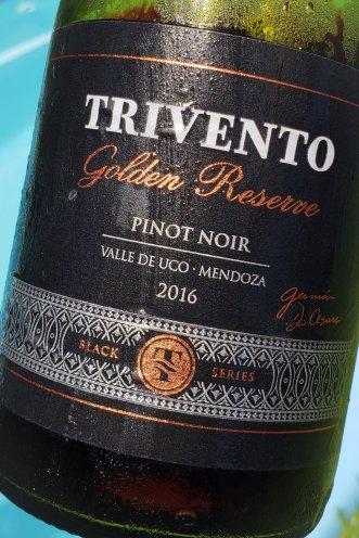 Trivento Golden Reserve Black Series Pinot Noir 2016