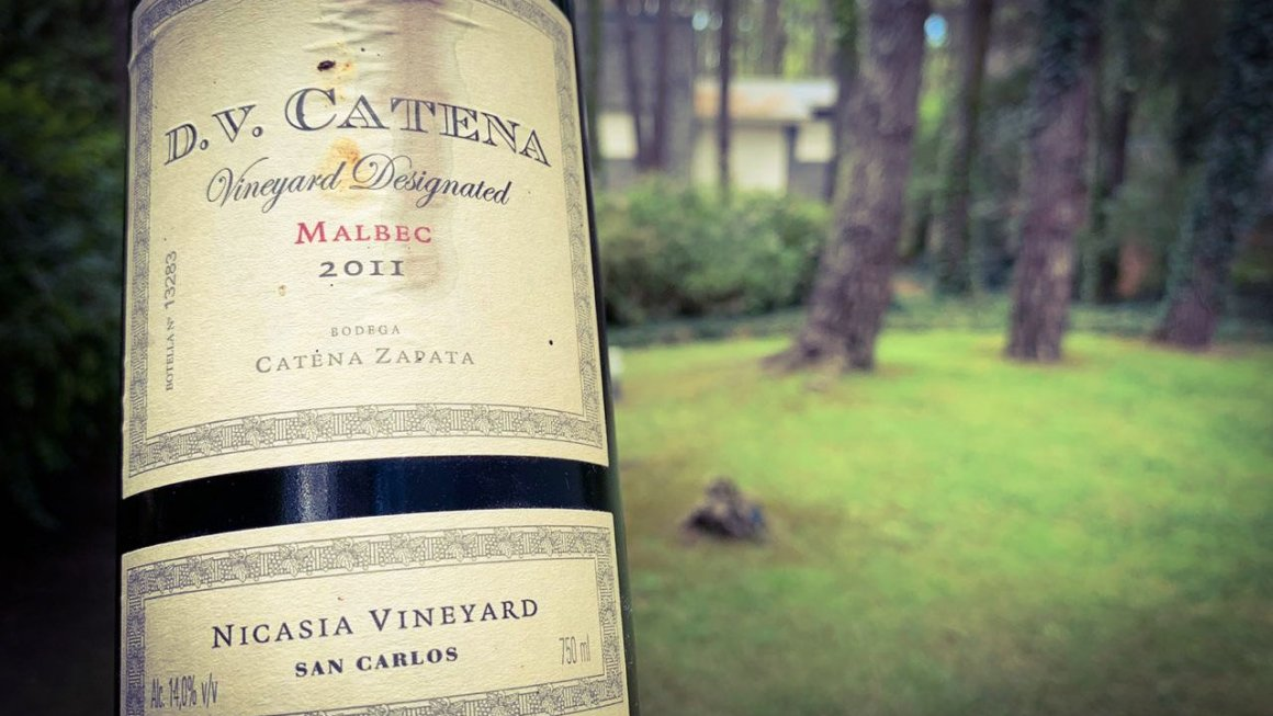 Como Dios Manda: D. V. Catena Vineyard Designated Nicasia Malbec 2011