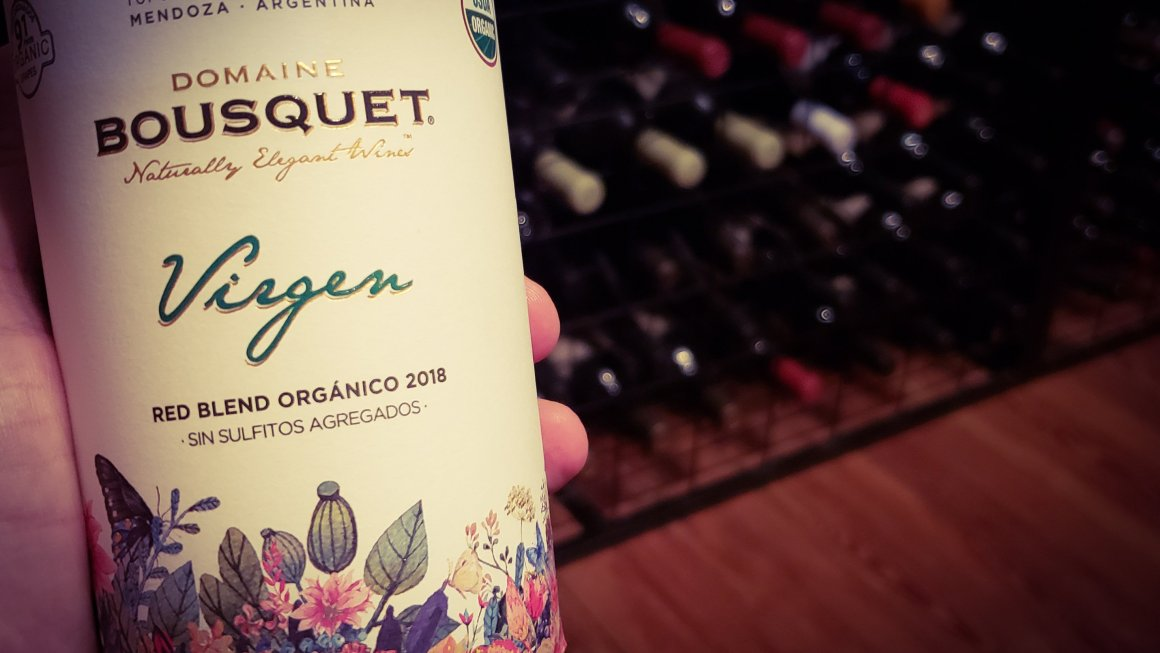 Virgen Red Blend Orgánico 2018