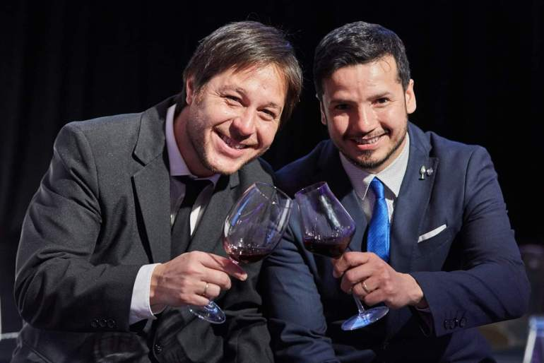 Nico Aleman y Rodrigo Kohn