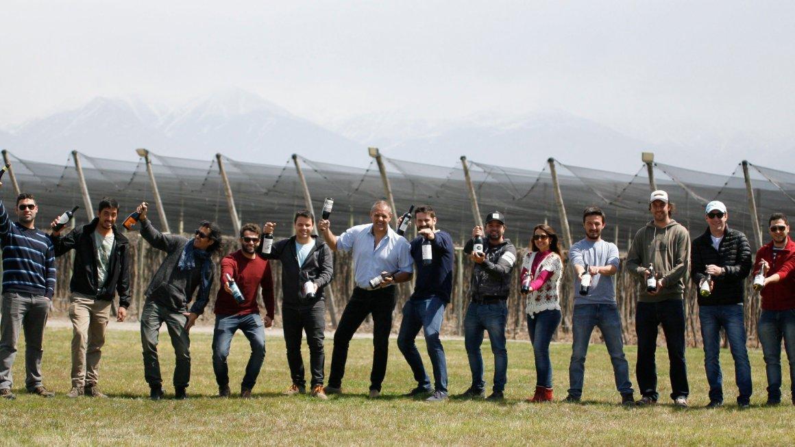 Productores mendocinos invaden Buenos Aires