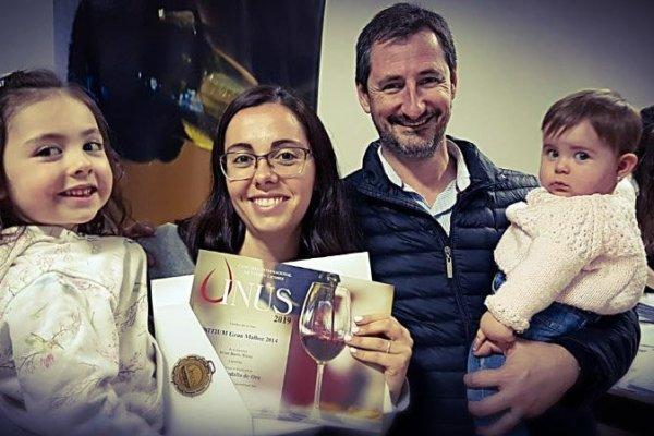 Initium 2014 y la Medalla Doble Oro Vinus 2019