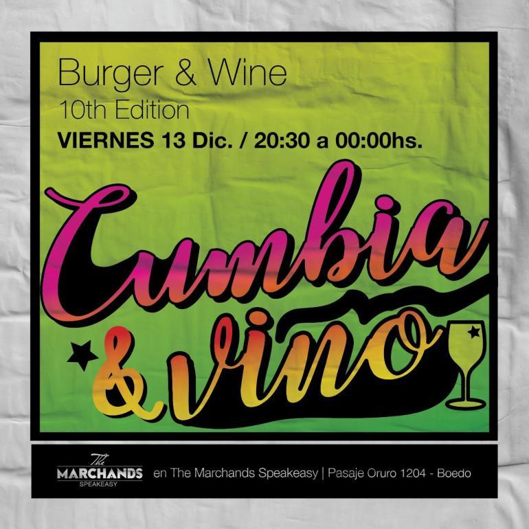 Burger & Wine Cumbia Edition