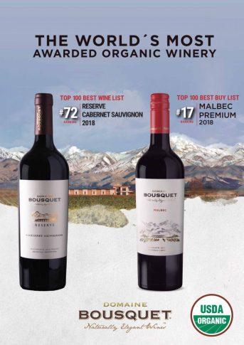 Wine Enthusiast Domaine Bousquet