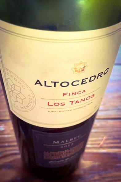 Altocedro Finca Los Tanos 2012