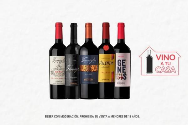 Vino a Tu Casa: una propuesta de Bodegas Bianchi desde su tienda online