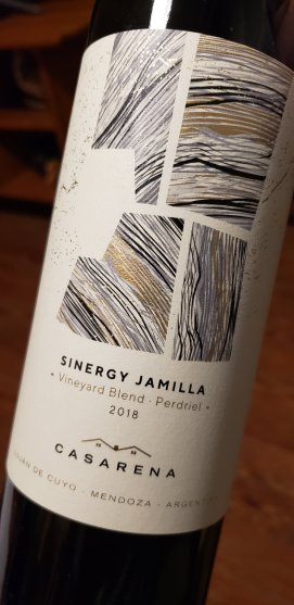 casarena sinergy vineyard blend Jamilla