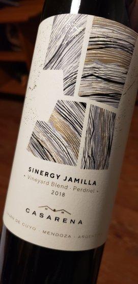 casarena sinergy vineyard blend Jamilla