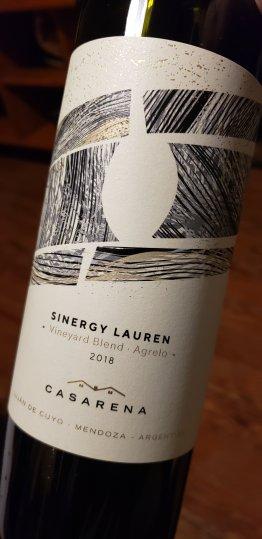 casarena sinergy vineyard blend Lauren